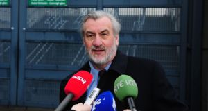 Chief executive of the Labour Relations Commission, Kieran Mulvey, is to report tomorrow on whether he believes a negotiatied solution is possible. Photograph: Aidan Crawley/The Irish Times