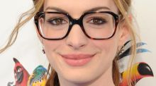 Putting fashion back into vision: Anne Hathaway. Photograph: John Sciulli/Getty Images