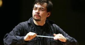 Alan Buribayev launches the NSO season with a free concert today. Photograph: Cyril Byrne