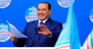 "Former Italian prime minister Silvio Berlusconi is accused of ""involvement in underage prostitution"" and ""abuse of office"". Photograph: Reuters"