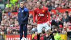 New  Manchester United David Moyes is set to have talks with  Wayne Rooney next week.  Photograph: Martin Rickett/PA Wire.