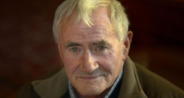 George Boland  photographed in Dublin while on tour with the Irish Elderly Advice Network as  part of The Gathering. Photograph: Brenda Fitzsimons/The Irish Times
