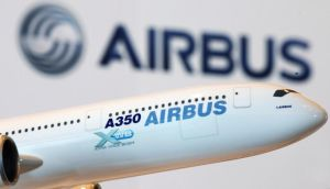 Revenues at Europe's largest aerospace group rose 9 per cent in the first quarter of 2013. Photograph: Reuters/Bobby Yip