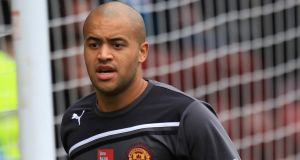 Darren Randolph has agreed a move to npower Championship side Birmingham City. Photograph: Lynne Cameron/PA Wire