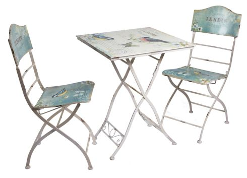 Table and chair set, €279 at Meadows & Byrne