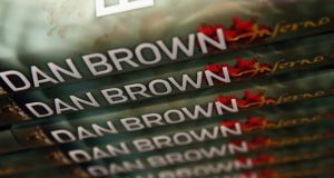 Inferno by author Dan Brown went  on sale yesterday. Photograph:  Dan Kitwood/Getty Images