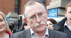 Blaming the non-delivery of housing on anti-social behaviour was not acceptable since no other community was punished for the actions of a few, said Sinn Féin TD Dessie Ellis.  Photograph: Collins