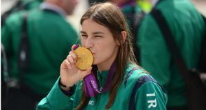 'The Gathering – Reflections on Ireland' will include reflections from Olympic gold medallist Katie Taylor, Nobel laureate Seamus Heaney and rugby player Brian O'Driscoll. Photograph: Bryan O'Brien