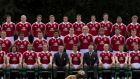 The official British & Irish Lions squad photograph released today.