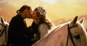 True love: Cary Elwes and Robin Wright in Rob Reiner's The Princess Bride