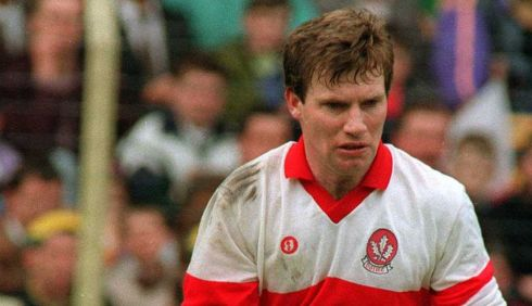 4 TONY SCULLION - Derry; 4 awards, 1987, 92, 93, 95 -  Maybe a bit under-rated, Scullion was a guy I watched as a young player who really made an impression on me. He was exceptional, not just in 1993 when Derry won the All Ireland, but before and after it as well. Another man-marker who just shut his opponent down.