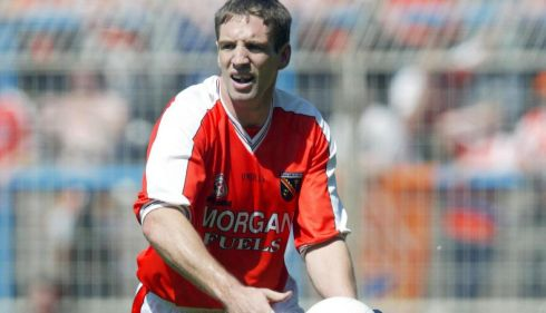 7 KIERAN McGEENEY - Armagh; 3 awards, 1999, 2000, 02 - Another serious leader who was exceptional year after year, not always in teams that were playing at the top. But his standards never slipped. A powerful athlete who had that Roy Keane thing of always performing, no matter what the game was.