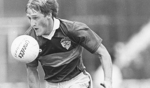 12 PAT SPILLANE - Kerry; 9 awards, 1976-81, 84-86 - He was unmarkable for the guts of a dozen years. Had size and strength that was maybe under-appreciated. Another completely one-legged player who was never blocked because he was just that good. Perfected the kicking of points over his shoulder.