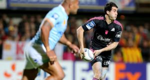Jerome Porical in action during the semi-final win over Perpignan. Photograph: Inpho