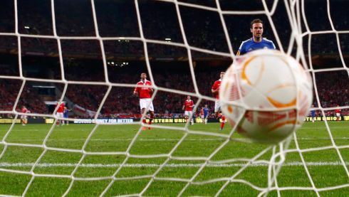 Fernando Torres (not pictured) scores... Photograph: Eddie Keogh/Reuters