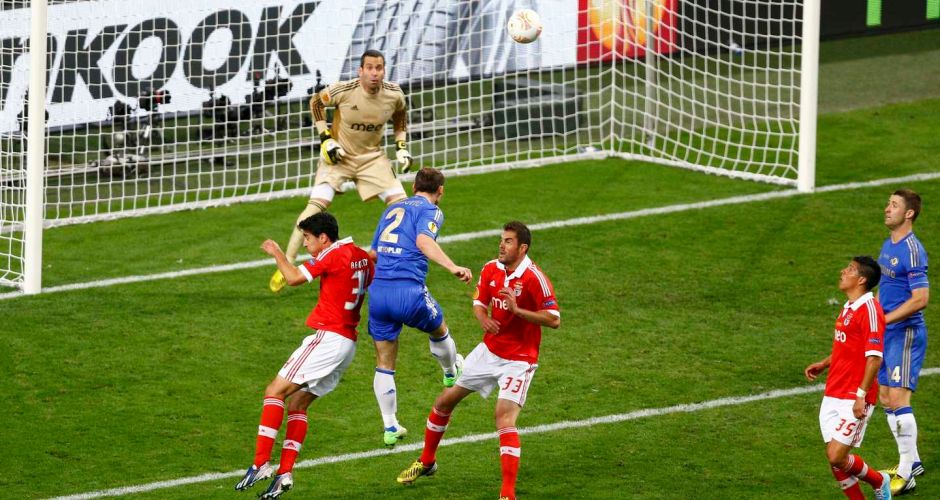 Europa League final gallery: Chelsea 2 Benfica 1