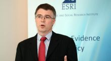David Duffy, Research Officer, ESRI , at the presentation of the ESRI Quarterly Economic Commentary, in Dublin.