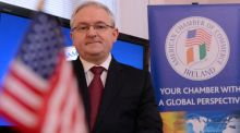 "American Chamber of Commerce president Peter Keegan: ""Untold damage to our international reputation could result if we enter into a summer of discontent has warned. Photograph: Cyril Byrne"