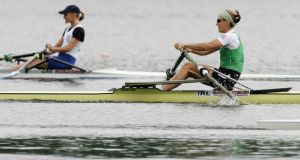 Lightweight sculler Sinead Jennings was the fastest woman at Limerick Regatta last weekend. Photograph: Inpho