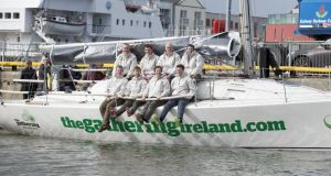 Martin Breen's Reflex 38 is planning an intensive 2013 season as the Discover Ireland Team flying the colours for The Gathering at key events in Irish and UK waters.