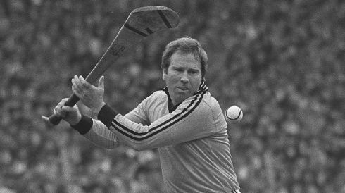 1 NOEL SKEHAN - (Kilkenny; 7 awards, 1972-76, '82-83) - Spent a long time, maybe too long, on the bench behind Ollie Walsh. Forwards hated him. Great shot stopper and controller of the ball in days when sliotar was bigger and heavier. Played squash and his eye-to-hand co-ordination was unbelievable.