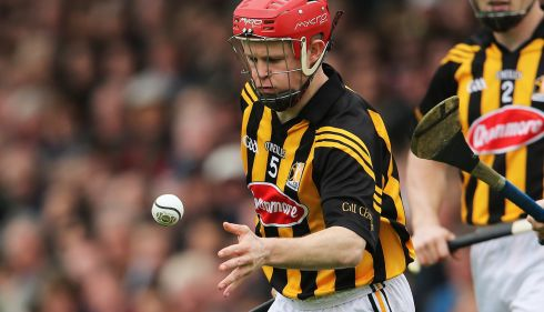 5 TOMMY WALSH - (Kilkenny; 9 awards, 2003-11) - A tough call with Brian  Whelahan, but Walsh has been the outstanding number five for nearly a whole decade. He's not big, but he's physical - not tall, but how often is he beaten in the bar? Great positioning and reading of the game.