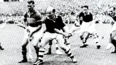 8 THEO ENGLISH - (Tipperary; 2 awards, 1963, '66) - He was the engine of a great Tipperary team and controlled the middle even though he operated almost entirely within a circle of about 30 yards. He was astute with the ball and very, very effective.