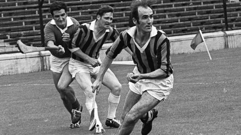 15 EDDIE KEHER - (Kilkenny; 9 awards 1963-64, '66-67 and '71-75) - His scoring exploits speak for themselves – record championship scorer until surpassed by Shefflin and set a new mark for All-Ireland finals until edged out by Nicky English – and he did it at a time when there was far less protection for forwards.