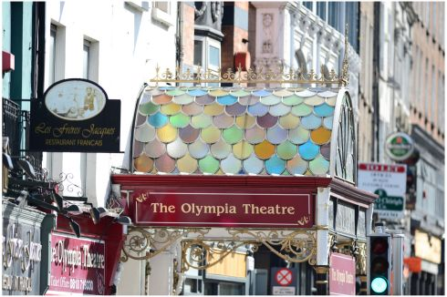 The Olympia Theatre on Dame Street Dublin. Photograph: Bryan O'Brien