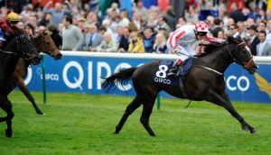 Johnny Murtagh riding Sole Power to  win The Pearl Bloodstock Palace House Stakes at Newmarket at the beginning of the month. Photograph:   Alan Crowhurst/Getty Images