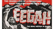 A detail from the original poster for 1962's Eegah