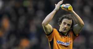 Wolverhampton Wanderers have parted company with Irish midfielder Stephen Hunt. Photograph: Andrew Yates/AFP/Getty Images