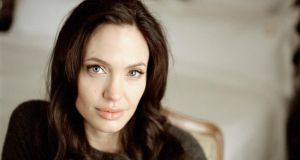 Fighting through: Angelina Jolie. Photograph: Todd Heisler/New York Times