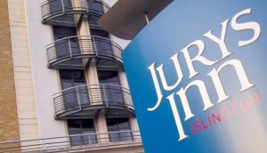 Jurys Inn is undertaking a £25 million refurbishment and renovation of its estate that includes a 150-room extension to its Islington hotel in London. Photograph: Adrian Brown/Bloomberg News