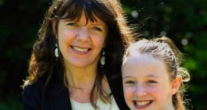 Paula Lonergan from One Family with her daughter Aoife Lonergan-Bourke.Photograph: Aidan Crawley