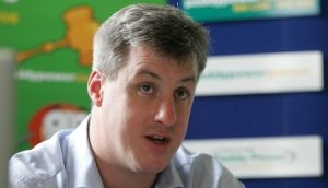 Paddy Power chief executive Patrick Kennedy stressed that the cost of the licence and the size of the US market would be key criteria when it comes to deciding whether or not to invest there. Photograph: Alan Betson