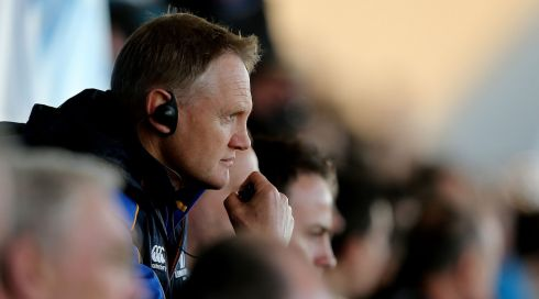 Outgoing Leinster head coach Joe Schmidt.  Photograph: James Crombie/Inpho