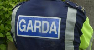 Two gardaí  are being treated in Tallaght Hospital after they were assaulted during a raid of a house in Lucan last night.