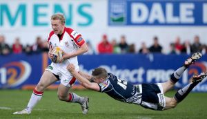 Ulster's Stuart Olding is one of six uncapped players in the Ireland squad to tour the US nad Canada.  Photograph: Morgan Treacy/Inpho