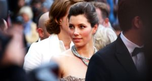 Actor Jessica Biel attends the Inside Llewyn Davis premiere at the  Cannes Film Festival yesterday. Photograph:  Vittorio Zunino Celotto/Getty Images