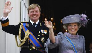 "King Willem-Alexander: the terror alert was increased to ""substantial"" just weeks before his investiture. Photograph: Reuters/Jerry Lampen"