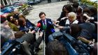 "Minister for Justice Alan Shatter's remark about Independent TD Mick Wallace ""has had a political impact far beyond its seemingly throwaway nature. It has raised serious issue surrounding ministerial power, rights and responsibilities."" Photograph: Bryan O'Brien"