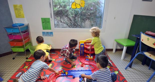 The State's investment in preschool tuition is largely on the basis that high-quality early-years education can yield significant benefits for children later in life. Photograph: Frank Perry/AFP/Getty Images