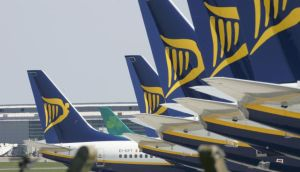 Low cost airline Ryanair has announced pre-tax profits of €650.9 million. Photograph: Alan Betson/The Irish Times