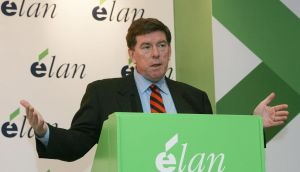 Kelly Martin, chief executive of Elan, says the transactions will deliver long-term growth in income and value. Photograph: Alan Betson/The Irish Times