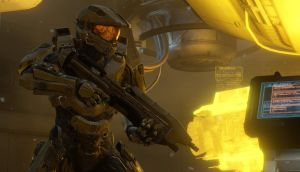 A screenshot from `Halo' by Havok