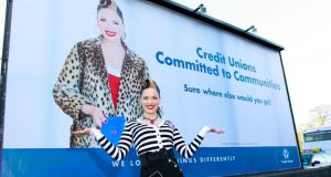 Imelda May is fronting the latest credit union advertising campaign.