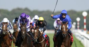 Last year's Ladbrokes St Leger winner Encke among seven more horses from Mahmood Al Zarooni stable to test positive for anabolic steroids. Photograph: Getty Images