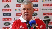 British and Irish Lions coach Warren Gatland, seen here at Carton House, has been 'lucky enough' with injuries.   Photograph:   Julien Behal/PA Wire.