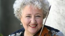 Monica Huggett drives into music 'with a sense of edginess, of danger'